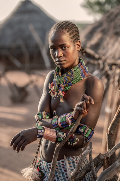 Young Hamar tribesman