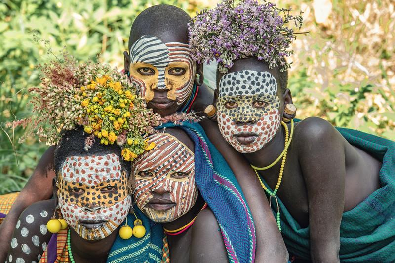 Suri girls of Kibish