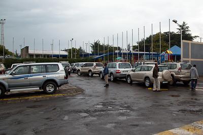 Hmmm...Should I buy an Audi or BMW? Perhaps not :-) School car park