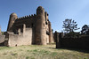Fasilides Castle from mid 17th Century, when Gondar was the capital of Abyssinia.