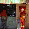 Coffin store in Gondar market -- you rent the coffin cover