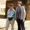 176: Bea and Bonnie at Gondar castle compound