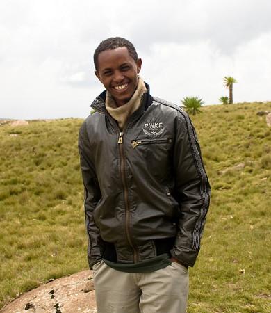 Ashenafi Getahun - our fearless leader