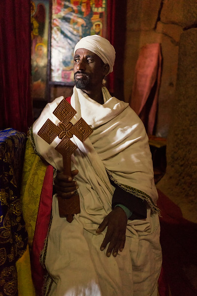 Ethiopian Orthodox Priest - Lalibela