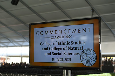 College of Ethnic Studies and College of Natural and Social Sciences Commencement Ceremony, Class of 2020. Photo by Robert Huskey