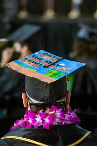College of Ethnic Studies and College of Natural and Social Sciences Commencement Ceremony, Class of 2020. Photos by Jill Connelly/Cal State LA