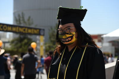 College of Ethnic Studies and College of Natural and Social Sciences Commencement Ceremony, Class of 2021. Photo by Robert Huskey