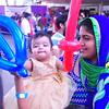 India Fest Shaheela Shameer ( blue and green) Nayana Shobby ( baby)