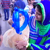 India Fest Shaheela Shameer ( blue and green) Nayana Shobby ( baby)