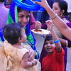 India Fest Shaheela Shameer ( blue and green) Nayana Shobby ( baby) Nehan Praveen (orange)
