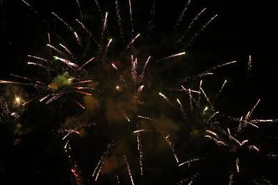 Fireworks in Belfast July 2017