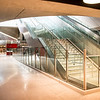 The Architects made liberal use of graceful curves throughout the new TTC extension stations