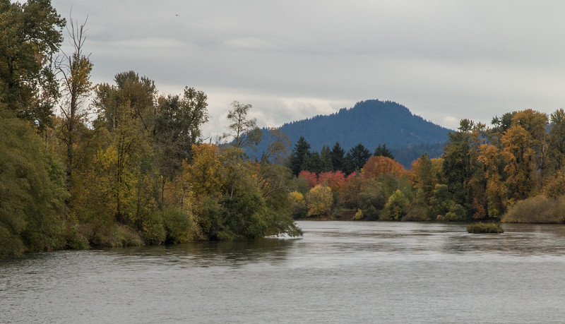 Spenser's Butte and the Willamette River.