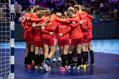 Team Poland - Women's EHF EURO 2018, preliminary round game -  Group A - Poland - Denmark in Hall XXL Nantes, Nantes, France 02.12.2018. Mandatory Credit © Anze Malovrh / kolektiff