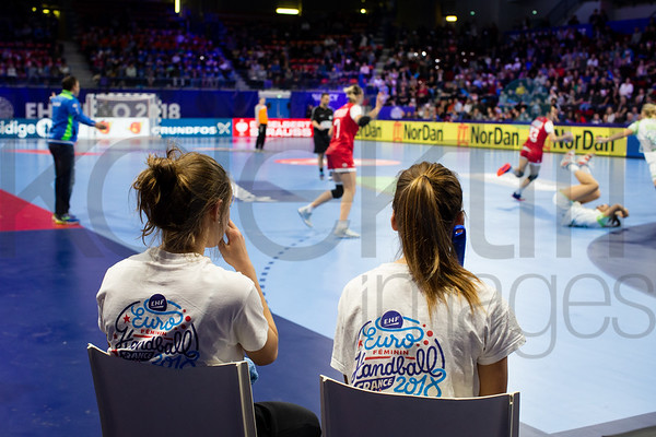 Women's EHF EURO 2018, preliminary round game -  Group B - Russia - Slovenia in Palais des sports Jean Weille Nancy, Nancy, France 4.12.2018. Mandatory Credit ©  Jure Erzen / kolektiff