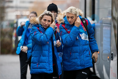 Team Russia - Women's EHF EURO 2018, preliminary round game -  Group B - Russia - Slovenia in Palais des sports Jean Weille Nancy, Nancy, France 4.12.2018. Mandatory Credit ©  Uros Hocevar / kolektiff