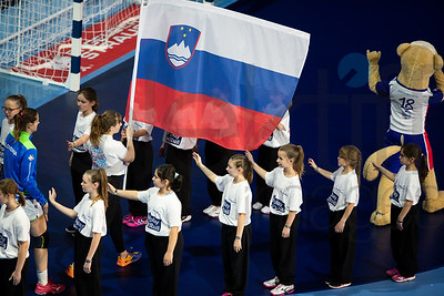 Women's EHF EURO 2018, preliminary round game -  Group B - Russia - Slovenia in Palais des sports Jean Weille Nancy, Nancy, France 4.12.2018. Mandatory Credit ©  Uros Hocevar / kolektiff