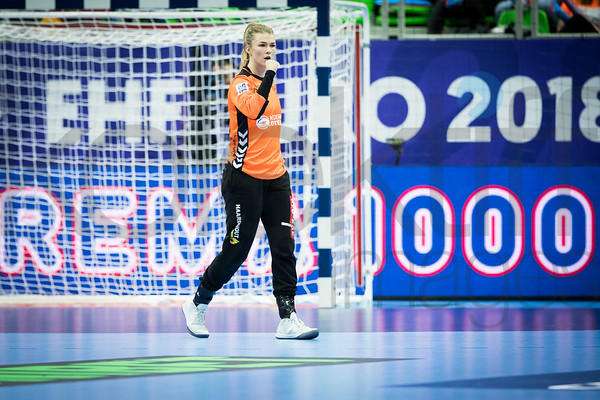 Tess Wester (33) - Women's EHF EURO 2018, preliminary round game - Group C - Hungary - Netherlands in L'Axone, Montbeliard, France, 01.12.2018. Mandatory Credit ©  Uros Hocevar / kolektiff