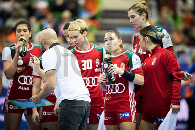 Team Hungary - Women's EHF EURO 2018, preliminary round game - Group C - Hungary - Netherlands in L'Axone, Montbeliard, France, 01.12.2018. Mandatory Credit ©  Uros Hocevar / kolektiff
