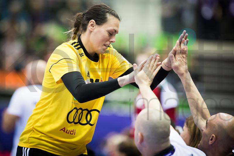 Eva Kiss (21) - Women's EHF EURO 2018, preliminary round game - Group C - Hungary - Netherlands in L'Axone, Montbeliard, France, 01.12.2018. Mandatory Credit ©  Uros Hocevar / kolektiff