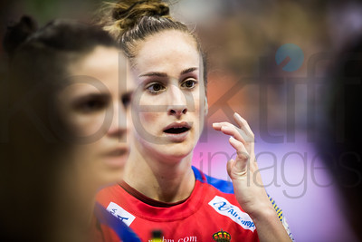 Women's EHF EURO 2018, preliminary round game - Group C - Spain - Croatia in L'Axone, Montbeliard, France, 01.12.2018. Mandatory Credit ©  Uros Hocevar / kolektiff / kolektiff