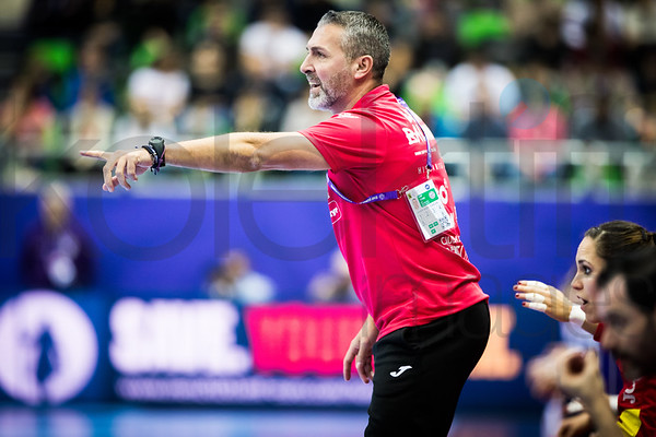 Women's EHF EURO 2018, preliminary round game - Group C - Spain - Croatia in L'Axone, Montbeliard, France, 01.12.2018. Mandatory Credit ©  Uros Hocevar / kolektiff