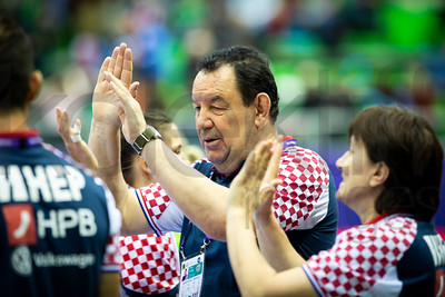 Women's EHF EURO 2018, preliminary round game - Group C - Croatia - Hungary in L'Axone, Montbeliard, France, 03.12.2018. Mandatory Credit ©  Jure Erzen / kolektiff