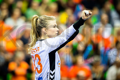 Tess Wester (33) - Women's EHF EURO 2018, preliminary round game - Group C - Netherlands - Spain in L'Axone, Montbeliard, France, 03.12.2018. Mandatory Credit ©  Jure Erzen / kolektiff