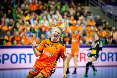 Nycke Groot (17) - Women's EHF EURO 2018, preliminary round game - Group C - Netherlands - Spain in L'Axone, Montbeliard, France, 03.12.2018. Mandatory Credit ©  Jure Erzen / kolektiff