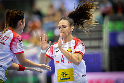 Carmen Dolores Martin Berenguer (4) - Women's EHF EURO 2018, preliminary round game - Group C - Hungary - Spain in L'Axone, Montbeliard, France, 05.12.2018. Mandatory Credit ©  Jozo Cabraja / kolektiff