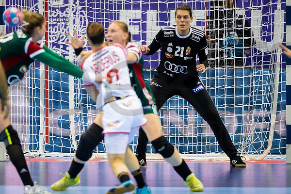 Eva Kiss (21) - Women's EHF EURO 2018, preliminary round game - Group C - Hungary - Spain in L'Axone, Montbeliard, France, 05.12.2018. Mandatory Credit ©  Jozo Cabraja / kolektiff
