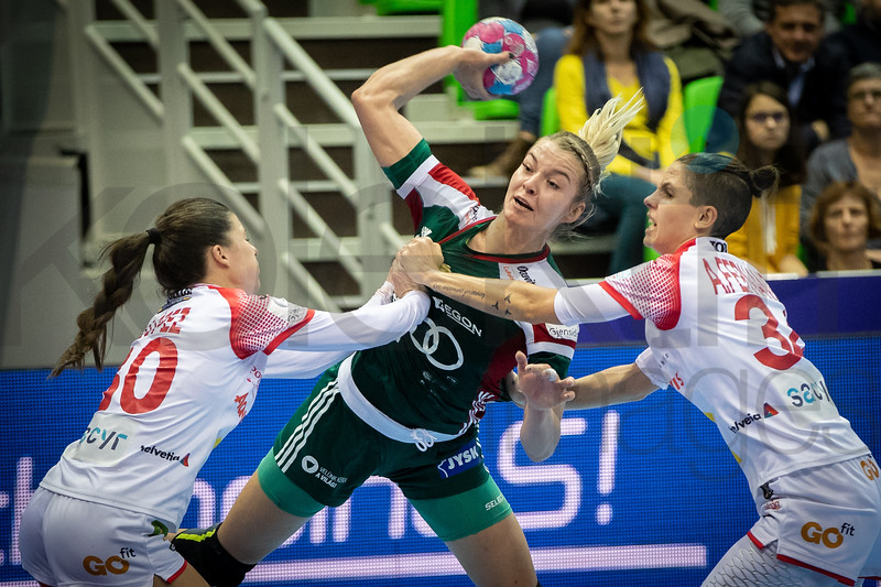 Women's EHF EURO 2018, preliminary round game - Group C - Hungary - Spain in L'Axone, Montbeliard, France, 05.12.2018. Mandatory Credit ©  Jozo Cabraja / kolektiff