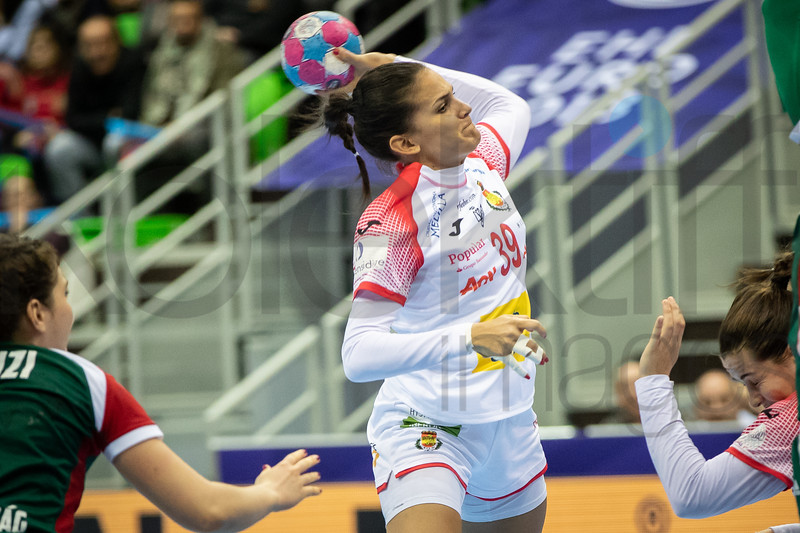 Almudena Rodriguez (39) - Women's EHF EURO 2018, preliminary round game - Group C - Hungary - Spain in L'Axone, Montbeliard, France, 05.12.2018. Mandatory Credit ©  Jozo Cabraja / kolektiff