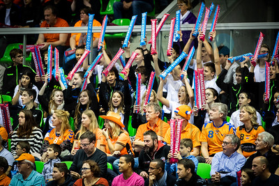 Fans - Women's EHF EURO 2018, preliminary round game - Group C - Netherlands - Croatia in L'Axone, Montbeliard, France, 05.12.2018. Mandatory Credit ©  Jozo Cabraja / kolektiff