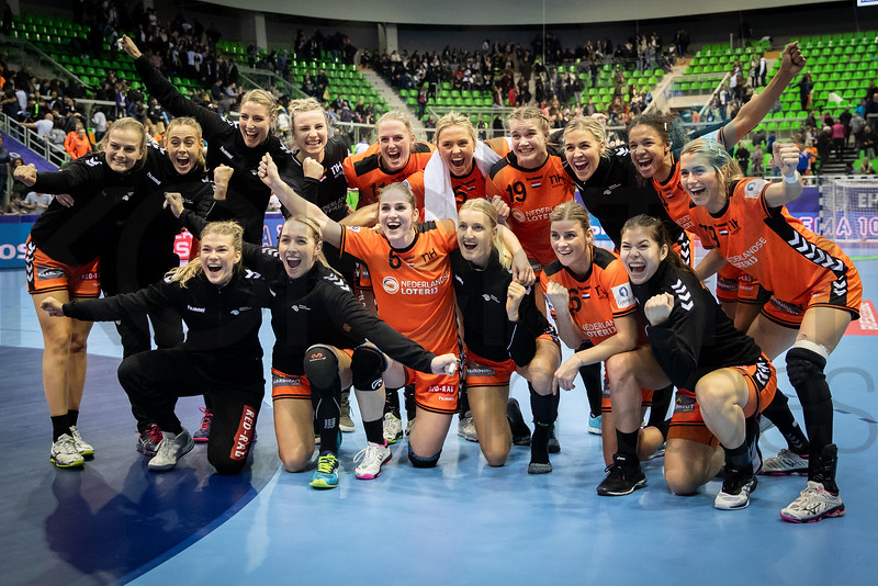 Team Netherlands - Women's EHF EURO 2018, preliminary round game - Group C - Netherlands - Croatia in L'Axone, Montbeliard, France, 05.12.2018. Mandatory Credit ©  Jozo Cabraja / kolektiff