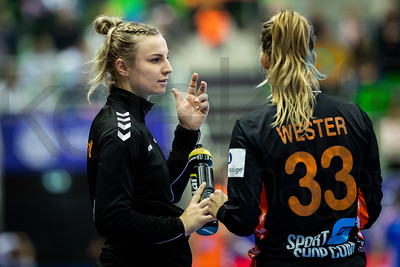 Tess Wester (33) - Women's EHF EURO 2018, preliminary round game - Group C - Netherlands - Croatia in L'Axone, Montbeliard, France, 05.12.2018. Mandatory Credit ©  Jozo Cabraja / kolektiff