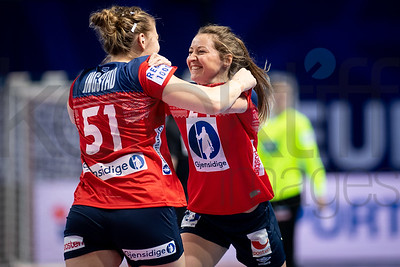 Vilde Mortensen Ingstad (51) - Women's EHF EURO 2018, preliminary round game -  Group D - Norway - Germany in Brest Arena, Brest, France, 01.12.2018. Mandatory Credit ©  Nebojsa Tejic