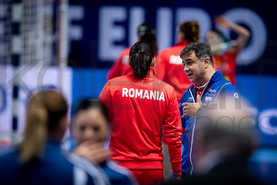 Team Romania - Women's EHF EURO 2018, preliminary round game - Group D - Romania - Czech Republic in Brest Arena, Brest, France, 01.12.2018. Mandatory Credit ©  Nebojsa Tejic / kolektiff