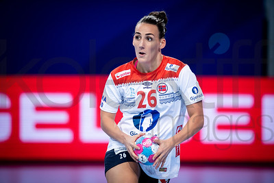 Marta Tomac (26) - Women's EHF EURO 2018, preliminary round game -  Group D - Czech Republic - Norway in Brest Arena, Brest, France, 03.12.2018. Mandatory Credit ©  Nebojsa Tejic / kolektiff