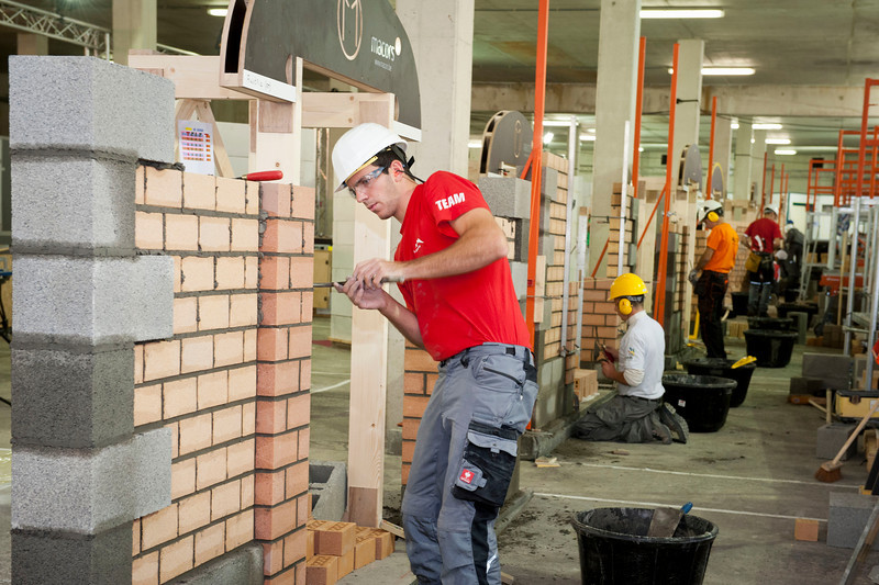 Euroskills 2012. Day 2 2012-10-04<br /> 29 Bricklaying