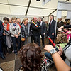 Euroskills 2012. Day 3 2012-10-05.<br /> Visit of Queen Paola of Belgium and European Commissioner Laszlo Andor at Euroskills 2012.