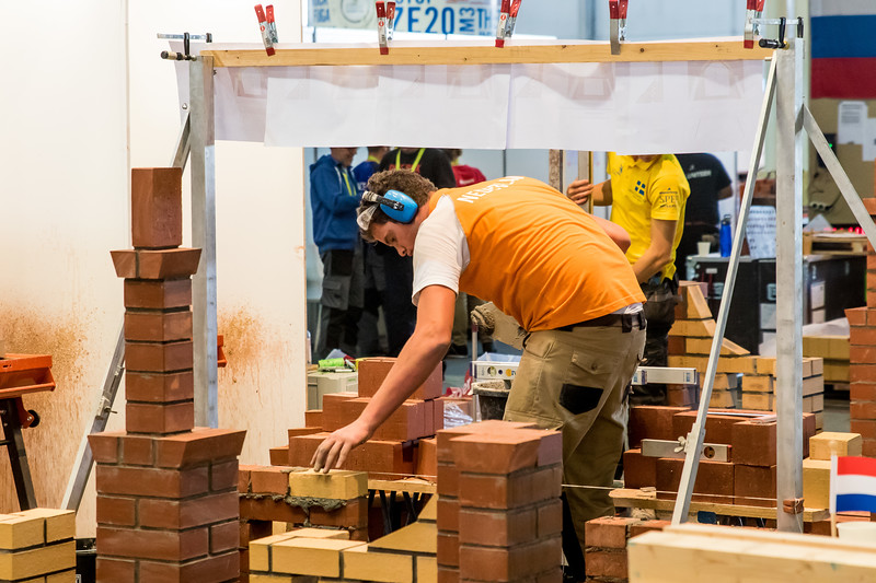 Second day of the EuroSkills 2018.