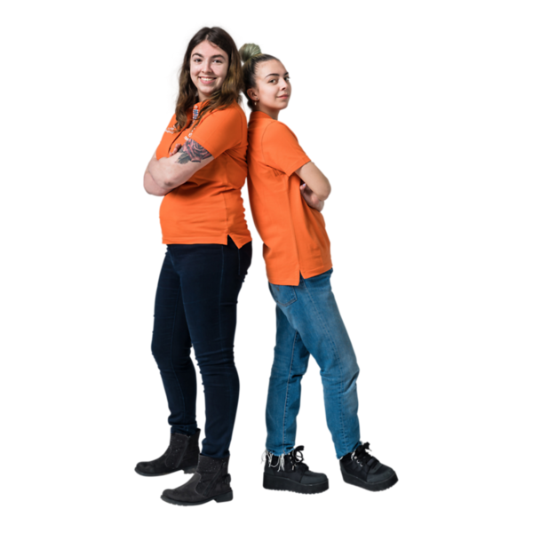 world skills netherlands,kick-off in den bosch voor euroskills 2018 in boedapest,op de foto :  <br /> tessa schönhage(links) en ivana thies