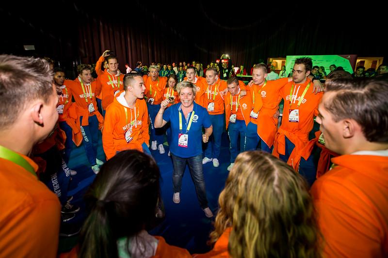 Competitor's welcome party