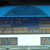 Ship board at Port entrance - busy day but amazing for ship spotting!
