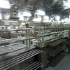 Galley tour - serving stations