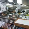 Galley tour - this is the room service kitchen. for the whole ship Yes, it's that small! Crazy huh?