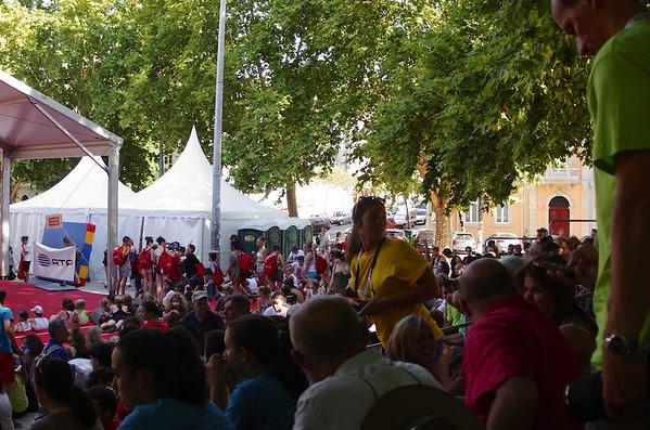 Eurogym  Démonstrations (17 juillet 2012)