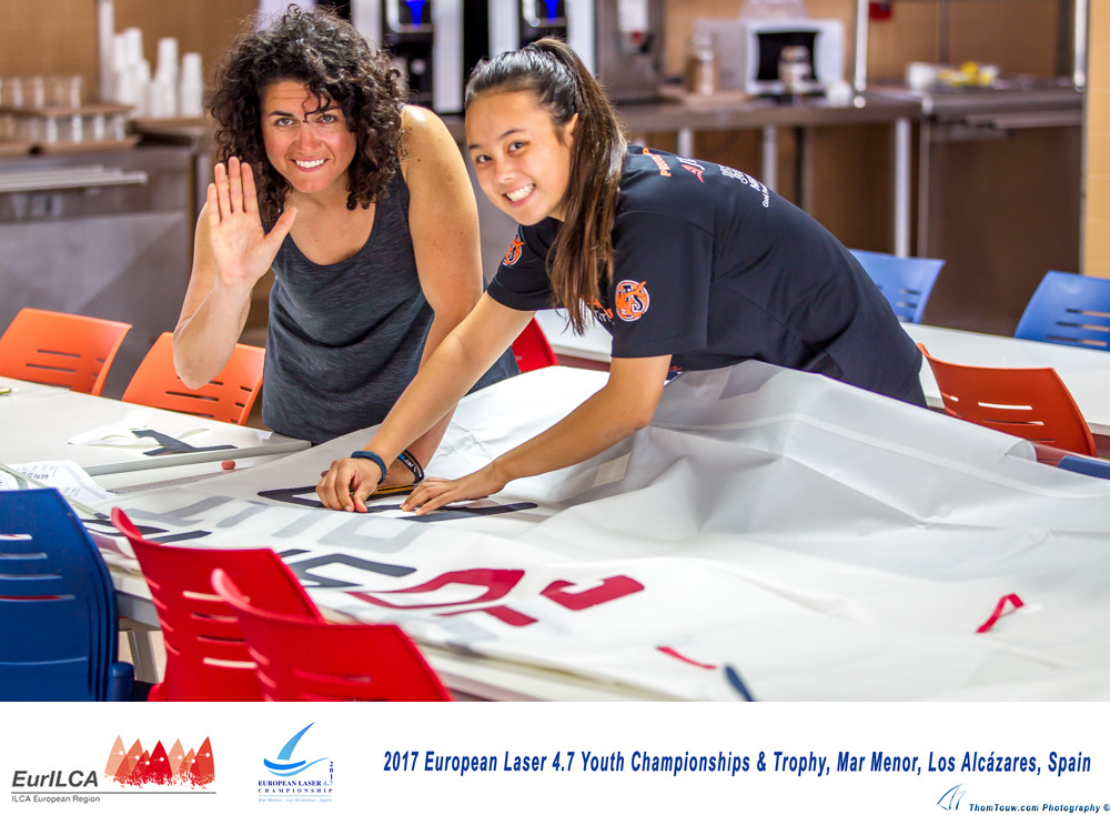 2017 European Laser 4.7 Youth Championships & Trophy