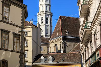 Turm der Katholischen Kirche St. Michael